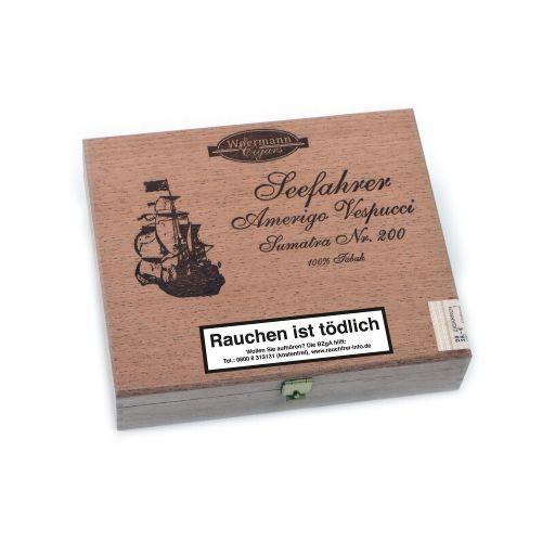 Seefahrer Amerigo Vespucci No 200 Sumatra Zigarren 20 STK