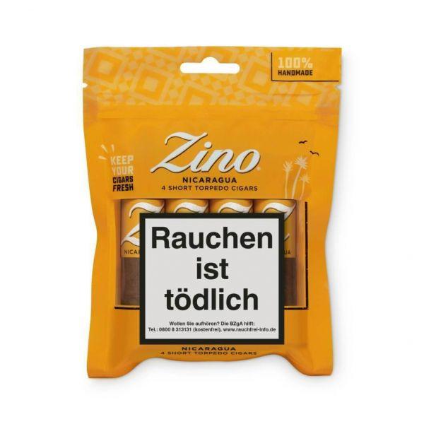 ZINO Zigarren Short Topedo, 4 Stück