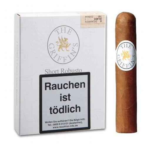 THE GRIFFINS Dominikanische Republik Classic Short Robusto 4 Zigarren