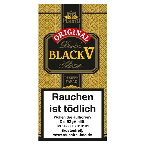 Danish Black V Flake