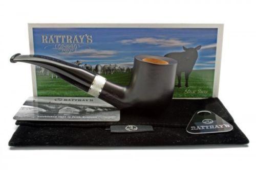 Rattray's Pipe Pfeife Black Sheep 106 Schwarz Matt Glatt 9mm Filter