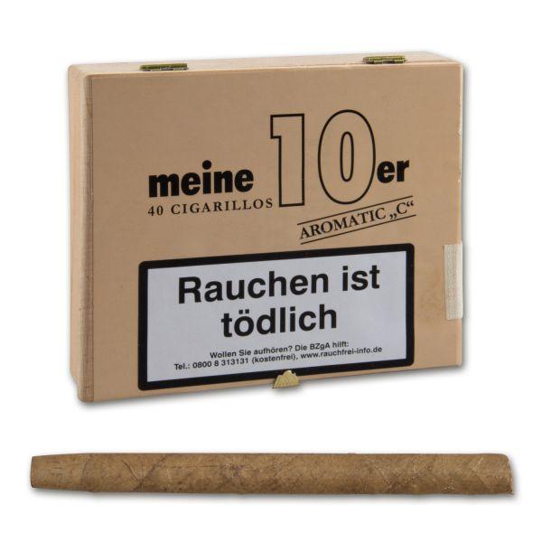 """Meine 10er Cigarillos Aromatic """"C"""" (Cherry-Kirsch)"""