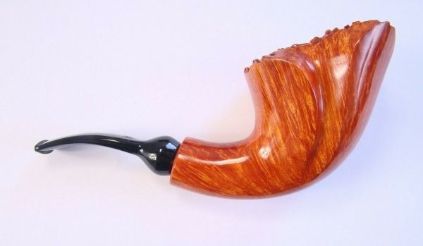Poul Winslow Pfeife Crown of Denmark Crown Collector Freehand 9mm #797