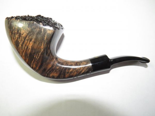 Poul Winslow Pfeife Crown 300 Handmade in Denmark Freehand 9mm Filter #68
