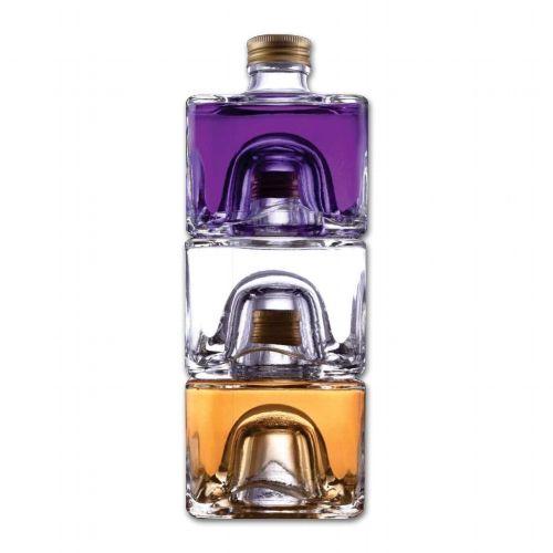 Spirituosen Trio Gentlemen 35-44 % Vol. Gin, Wodka und Rum 0,6 L