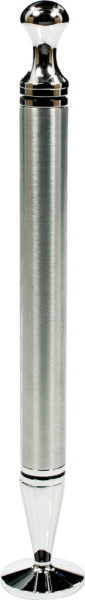 Rattray's Thin Caber Chrome Satin Tamper