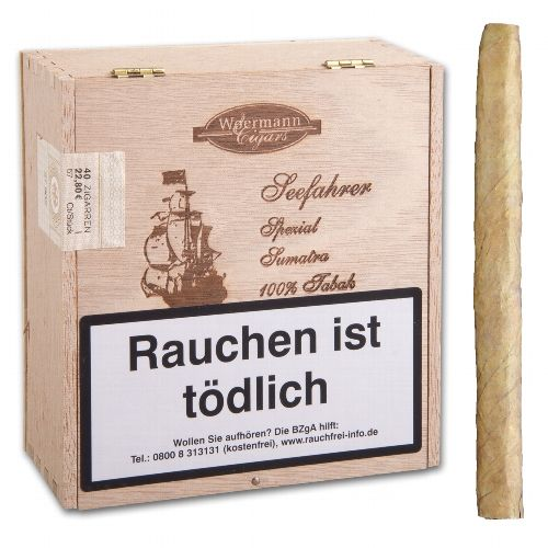Seefahrer Spezial Sumatra Cigarillos 40 STK