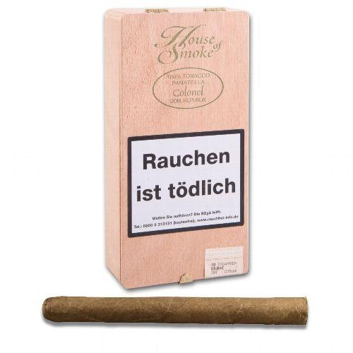 House of Smoke Longfiller Colonel 10 Zigarren