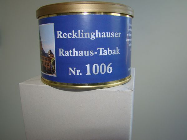 Recklinghäuser Rathaustabak Nr. 1006