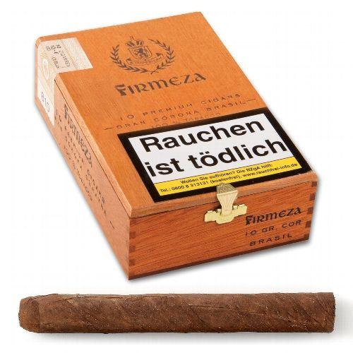 Firmeza Gran Corona Premium Brasil 10 Zigarren
