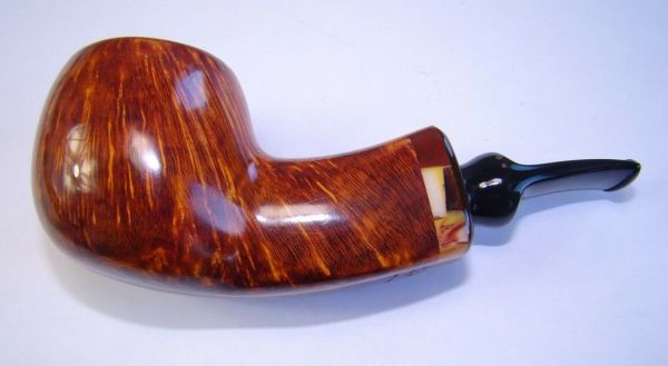 Poul Winslow Pipe Pfeife Handmade in Denmark, Einzelstück, Grade D, 9mm #57